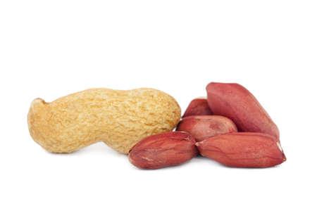 isolated peanuts photo