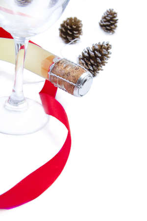 christmas movies: champagne for the celebration of Christmas