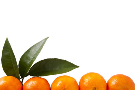 dieta: naranja sobre fondo blanco Stock Photo