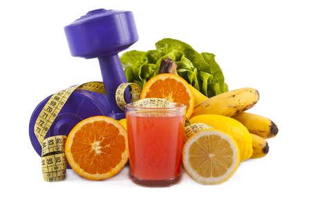 Gezonde voeding, gewicht te verliezen Stockfoto - 12595537
