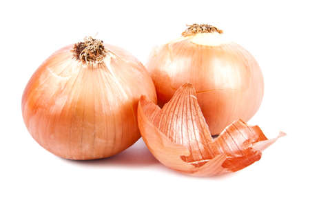 onion isolated on white background Stock Photo - 12598444
