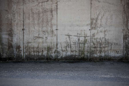 scenarios: cement abstract background, details of the city and scenarios