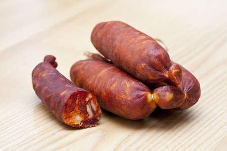 incommunicado: sausages