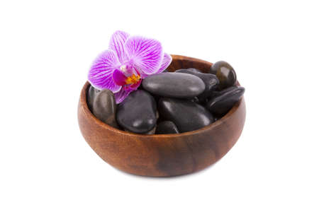 falsely: spa black stones