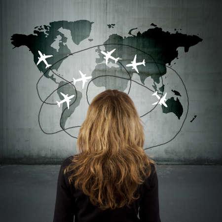 agencia de viajes: concepto de viaje
