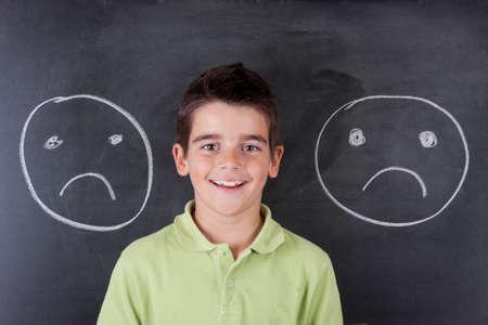 child in school photo