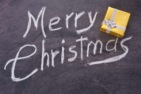 endearing: merry christmas on the board