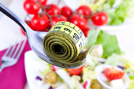 Tape bottom food vegetable healthy diet Stock Photo