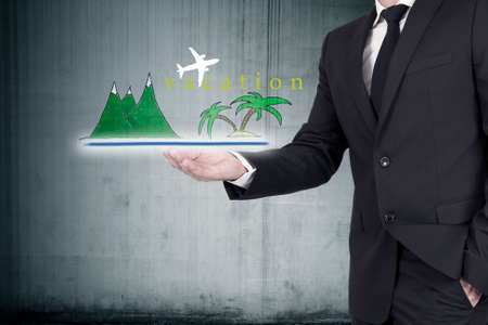 tourist destinations: concept of holiday and tourist destinations in the summer
