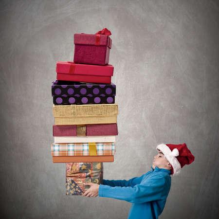 king s: Santa Claus Stock Photo