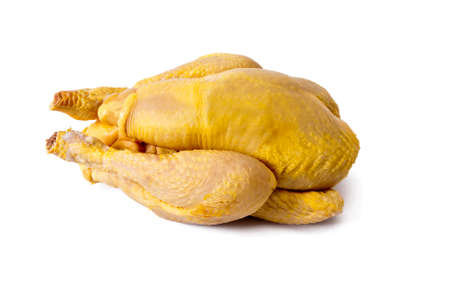 raw chicken: raw chicken isolated on white background Stock Photo