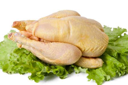 raw chicken: raw chicken