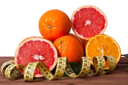 diet healthy: naranjas frescas con cinta, dieta saludable