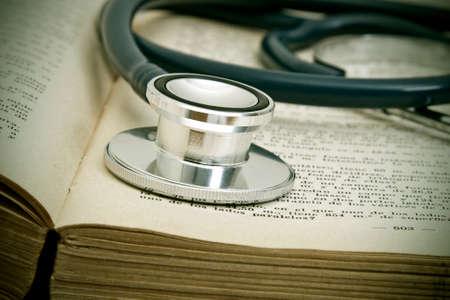 worktable: medical worktable Stock Photo