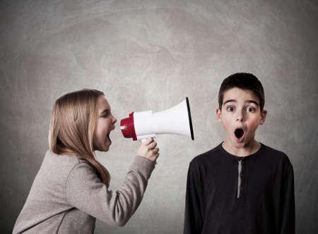 rebates: child with speaker