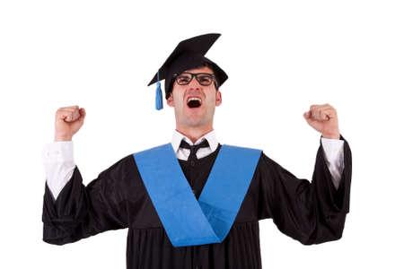 toga: retrato de toga estudiante victorioso
