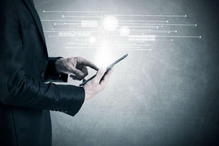 bedrijfsconcept in de digitale tijdperk
