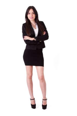 hispanica: Business woman portrait Length