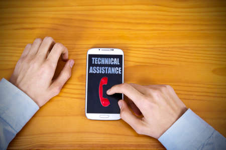 insurance concepts: by calling technical support
