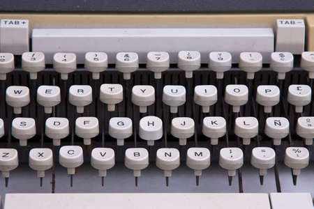 an antique: antique typewriter
