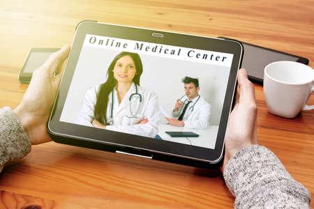 medical center: the tablet at the medical center online
