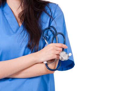 medium body: doctor isolated on white background Stock Photo