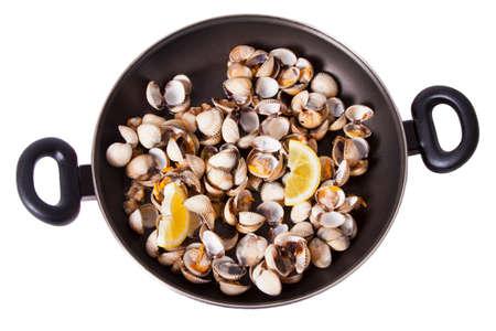 cockles: prepared cockles, shellfish Stock Photo