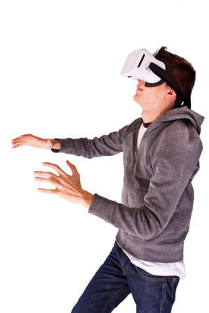 viewer: young viewer virtual reality