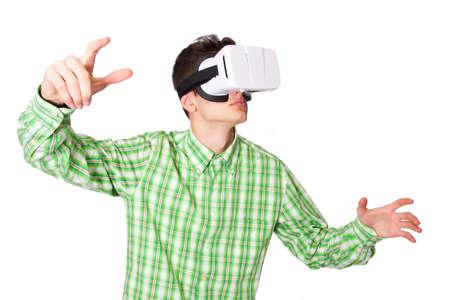 virtual reality simulator: virtual reality