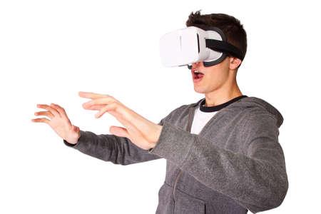 realidad virtual Foto de archivo