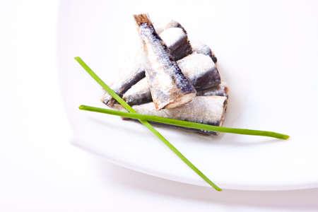sardines: prepared sardines isolated