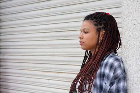 rasta colors: urban style girl in the city