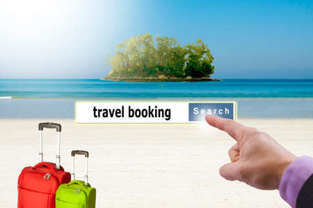 tour operator: concept holiday travel