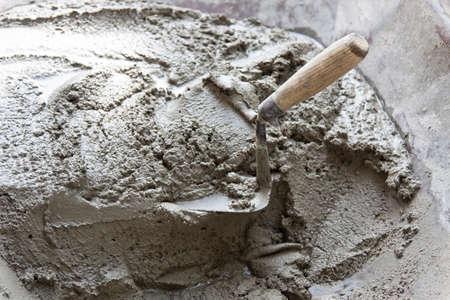 혼합 시멘트 공사