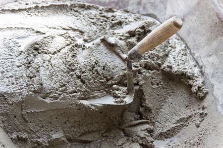 blended bouw cement Stockfoto