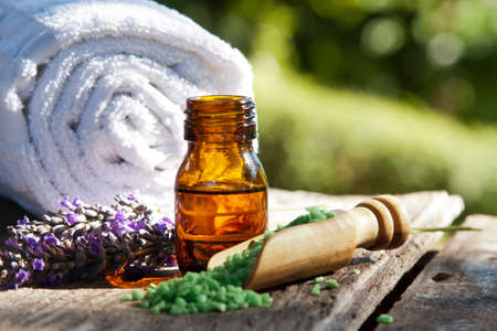 essences: natural health products Stock Photo
