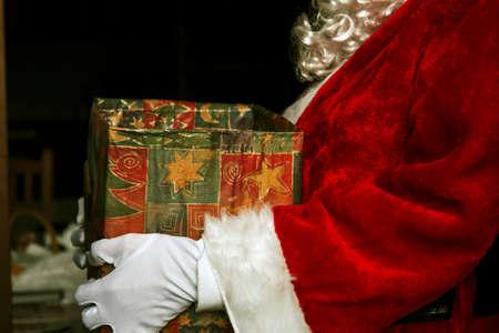 santa claus at christmas