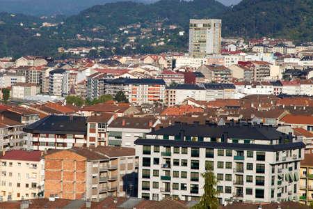panoramic view of the city of orense, galicia, Spain Stock Photo