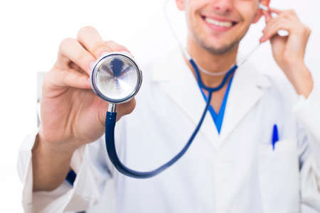 doctor, health care and medicine Stock Photo