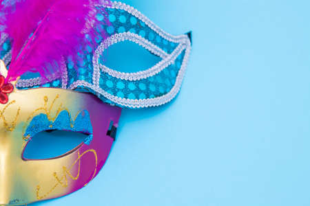 masks and disguises, carnival concept Stockfoto