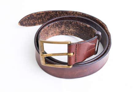 white insulated skin belt