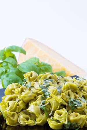 pasta tortellini prepared, pasta diet and mediterranean food
