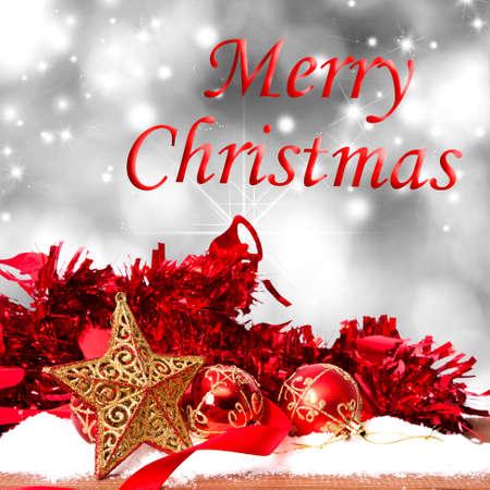 merry christmas background Reklamní fotografie