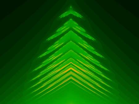 Fractal - Pine photo