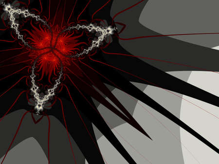 diabolical: Abstract background - Sun In Hell