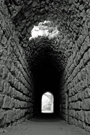 mura della citt� fortificata di Kerak, Giordania, l'antico presidio romano