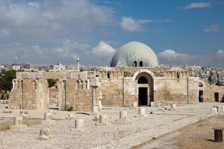 the citadel: Museo di Cittadella di Amman, Giordania Amman Editoriali