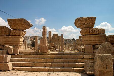 Jerash antica. Rovine della citt� greco-romana di Gera al Giordano