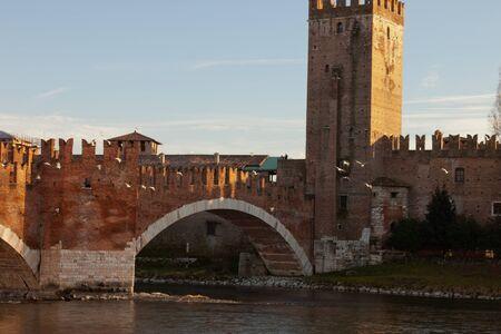 Bridge of Castelvecchio Verona - Italy photo