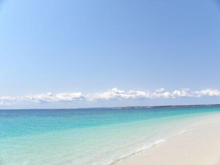 Zanzibar Island of Tanzania with its white sandy beaches photo